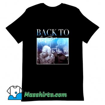 Vintage Back To The Future 01 80s T Shirt Design
