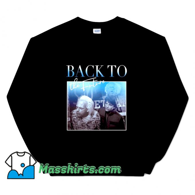 Back To The Future 01 80s Sweatshirt On Sale