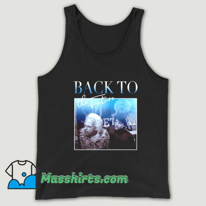 Back To The Future 01 80s Tank Top