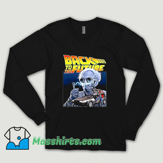 Cool Back To The Future 02 80s Shirt