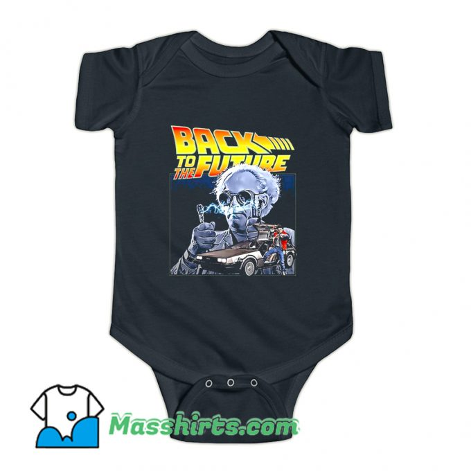 Back To The Future 02 80s Baby Onesie