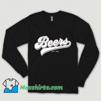 Classic Drink Beers EST 1895 Shirt