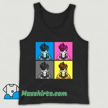 Cartoon Comic Cajun CMYK 2020 Tank Top
