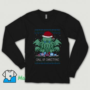 Call Of Christmas Ugly Christmas Shirt On Sale
