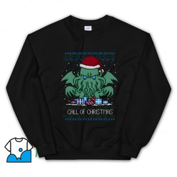 Classic Call Of Christmas Ugly Christmas Sweatshirt