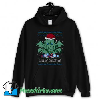 Call Of Christmas Ugly Christmas Hoodie Streetwear