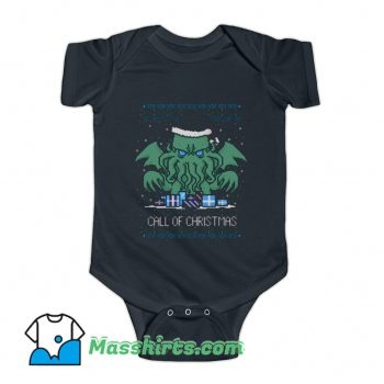 Call Of Christmas Baby Onesie