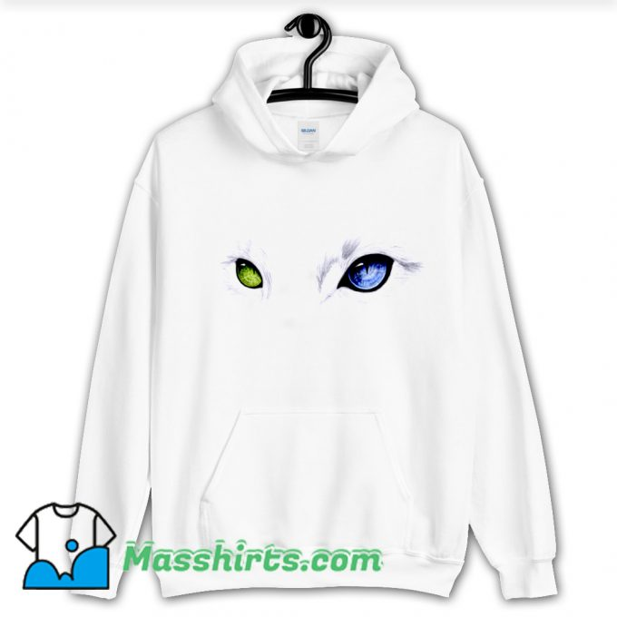 Funny Cat Eyes Hoodie Streetwear
