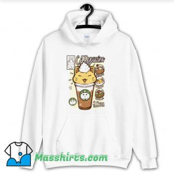 Catppuccino Drink Hoodie Streetwear