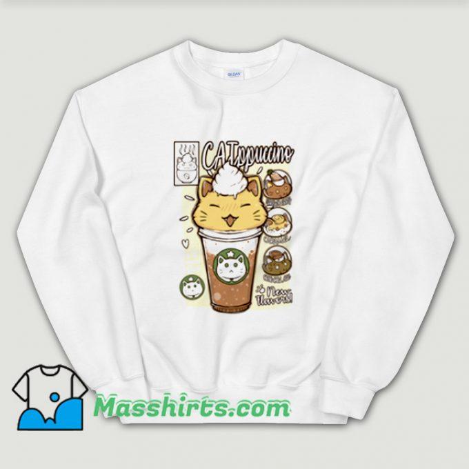 Cool Catppuccino Drink Sweatshirt