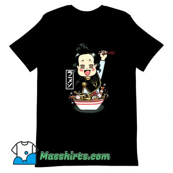 Anime Charmy Ramen T Shirt Design