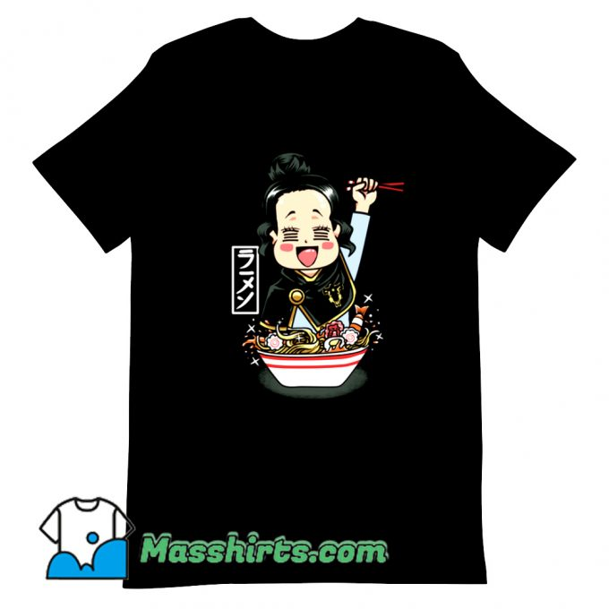 Anime Charmy Ramen T Shirt Design