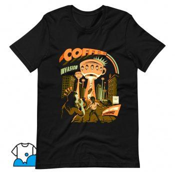 Coffee Invasion T Shirt Design