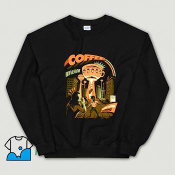 Cheap Coffee Invasion Sweatshirt