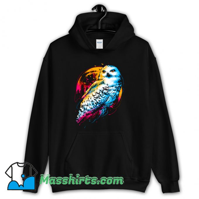 Cool Colorful Owl Hoodie Streetwear