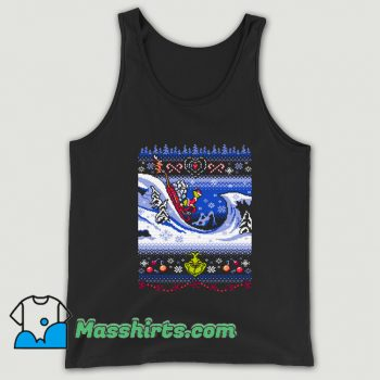 Cuddly As A Cactus Ugly Sweater Tank Top