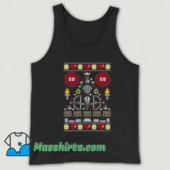 D-20 Sweater Ugly Christmas Tank Top