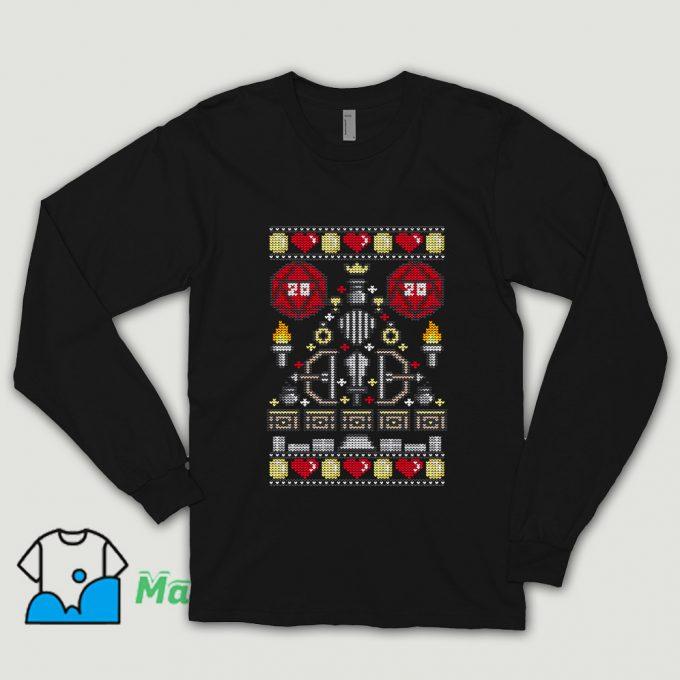 Cheap D-20 Sweater Ugly Christmas Shirt