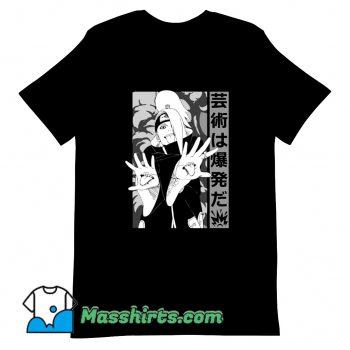 Vintage Deidara T Shirt Design