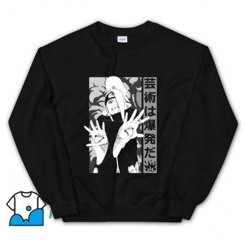 Cool Deidara Anime Sweatshirt