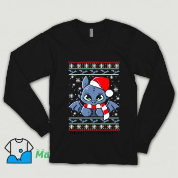 Dragon Night Fury Ugly Christmas Sweater Shirt