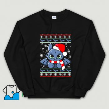 Dragon Night Fury Ugly Christmas Sweater Sweatshirt