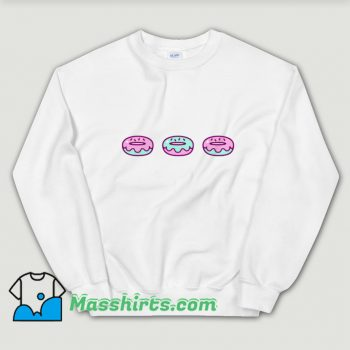 Funny Eat Donuts Food Sweatshirt