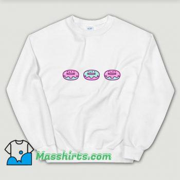 Funny Eat Donuts Food Sweatshirt