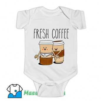 Fresh Coffee Baby Onesie