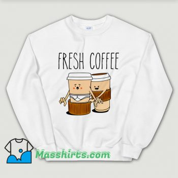 Vintage Fresh Coffee Sweatshirt