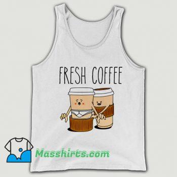 Classic Drink Fresh Coffee Tank Top