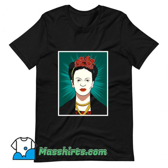 Frida Kahlo T Shirt Design
