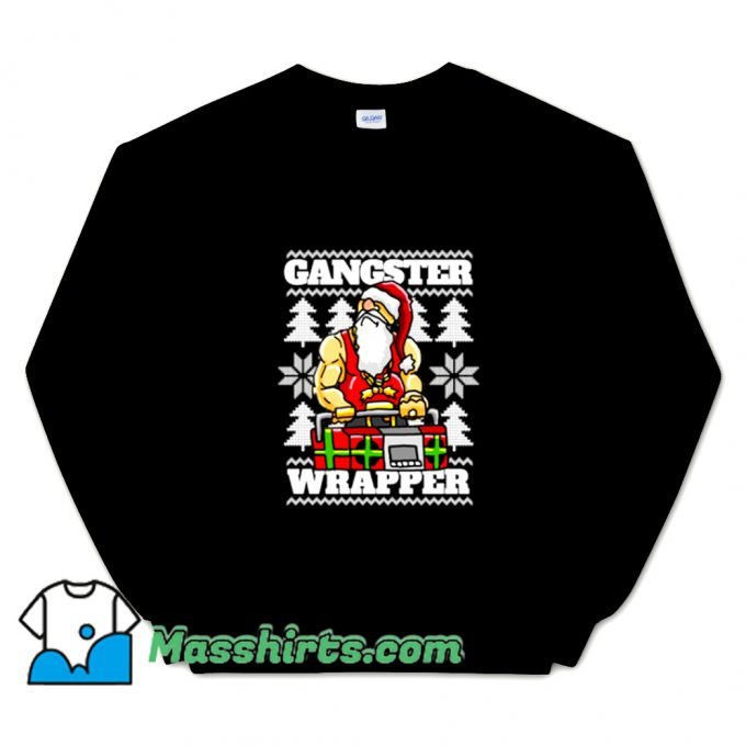 Gangsta Gangster Rap Christmas Sweatshirt
