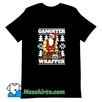 Gangsta Gangster Rap Christmas T Shirt Design