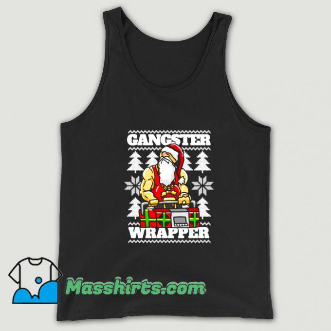 Gangsta Gangster Rap Christmas Tank Top