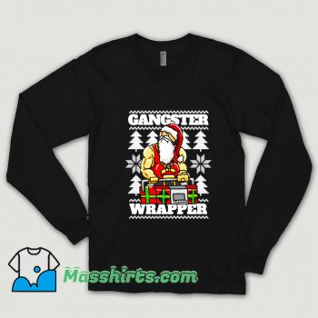Gangsta Gangster Rap Christmas Shirt