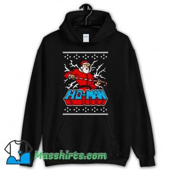 Ho-Man Santa Claus Christmas Hoodie Streetwear