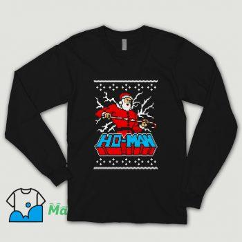Vintage Ho-Man Santa Claus Christmas Shirt