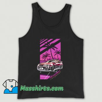 Funny Cartoon Comic Horsepower Tank Top