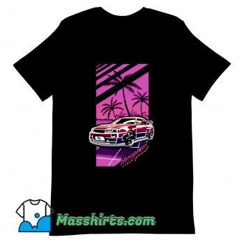 Cool Horsepower Comic T Shirt Design