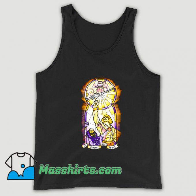 Awesome In Power We Trust Comic Tank Top