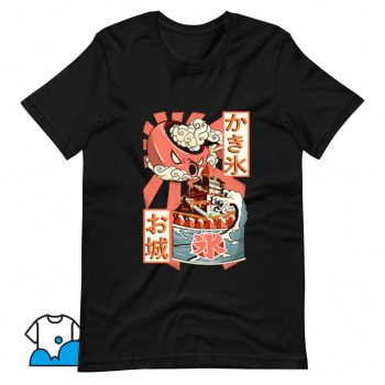 Japanese Ice Cream and Radiant Teapot T Shirt Design