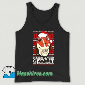 Jar Jar Christmas Ugly Sweater Tank Top