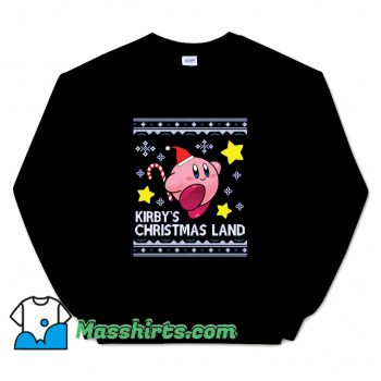 Official Kirby Christmas Land Knit Sweatshirt