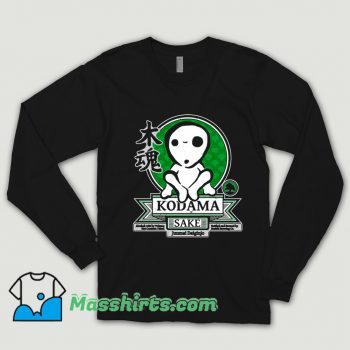 Cartoon Comic Kodama Sake Shirt
