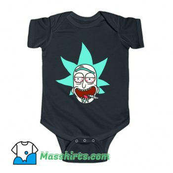 Cartoon Legalize Rick Baby Onesie