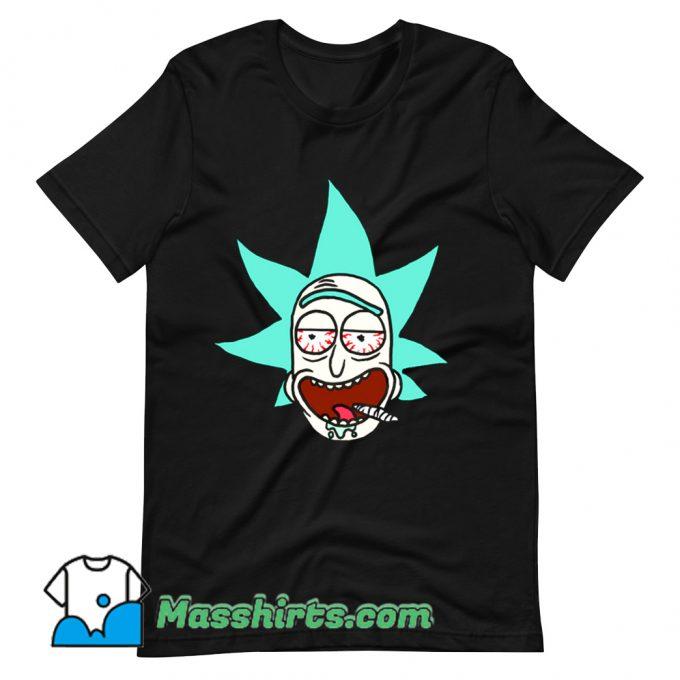 Cartoon Legalize Rick T Shirt Design On Sale