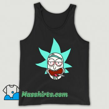 Awesome Cartoon Legalize Rick Tank Top