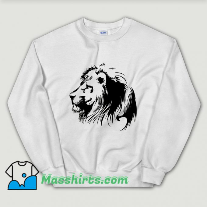 Vintage Lion Shadow Sweatshirt