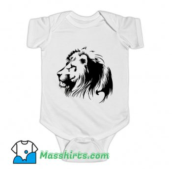 Lion Shadow Baby Onesie